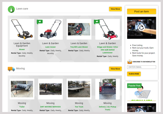 Equipment Rental Software to manage Rentals and Online