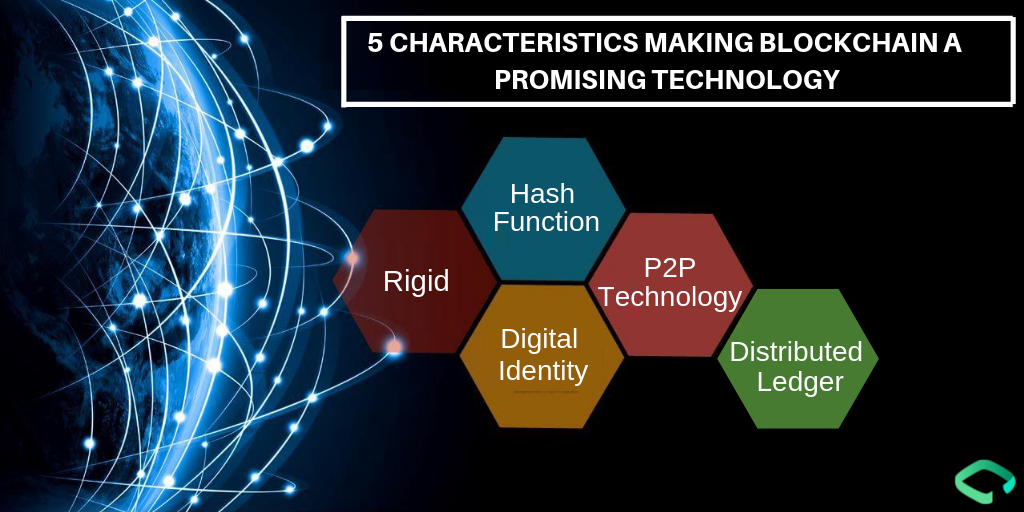 5 Characteristics making Blockchain a promising technology