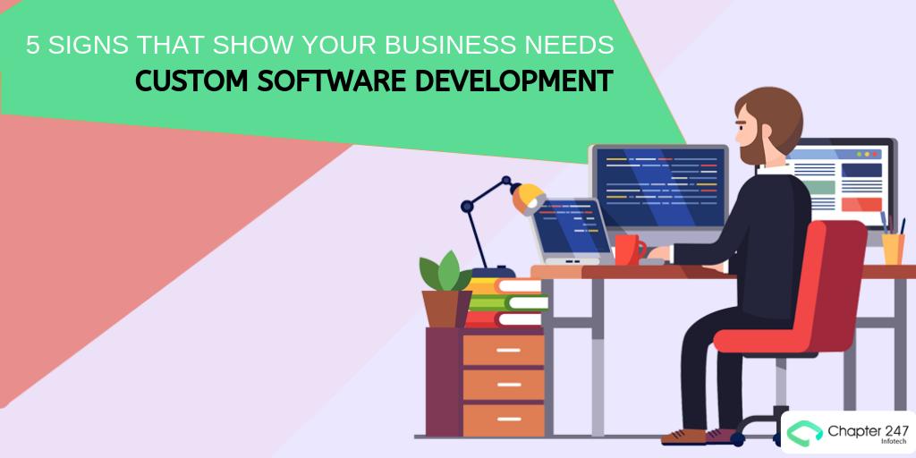 Custom Software Development - cover