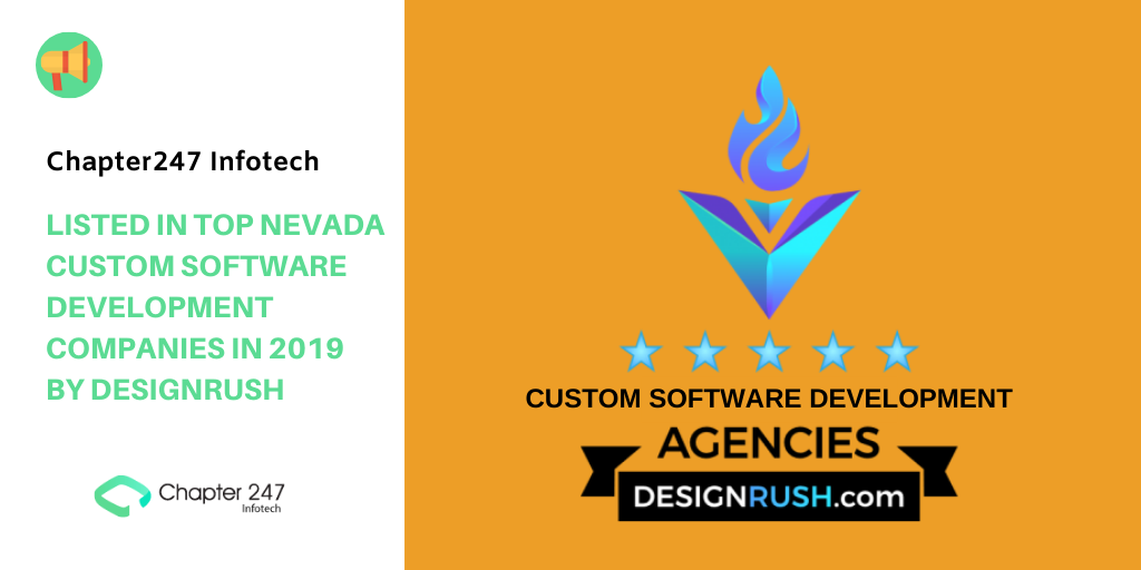 Chapter247 Infotech: Listed in Top Nevada Custom Software Development Companies in 2019