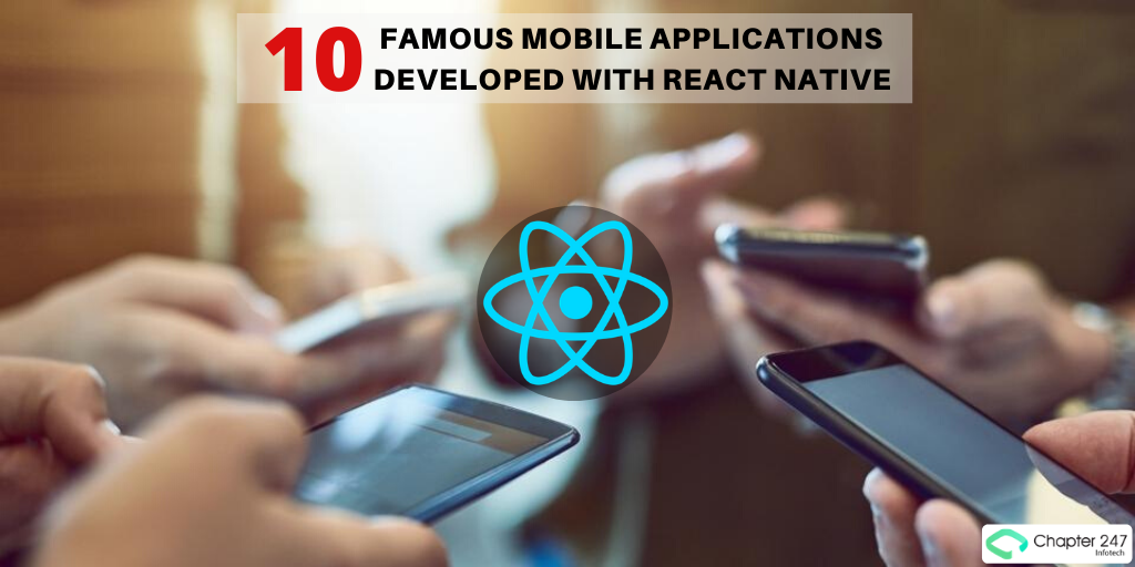 10 famous mobile applications developed with react native