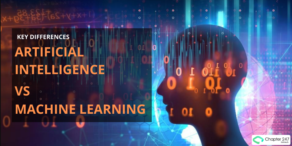 Key differences between Artificial Intelligence and Machine...