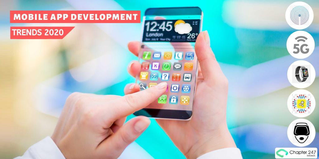 Top 10 mobile app development trends for...