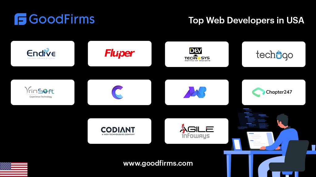 Top web development companies in USA